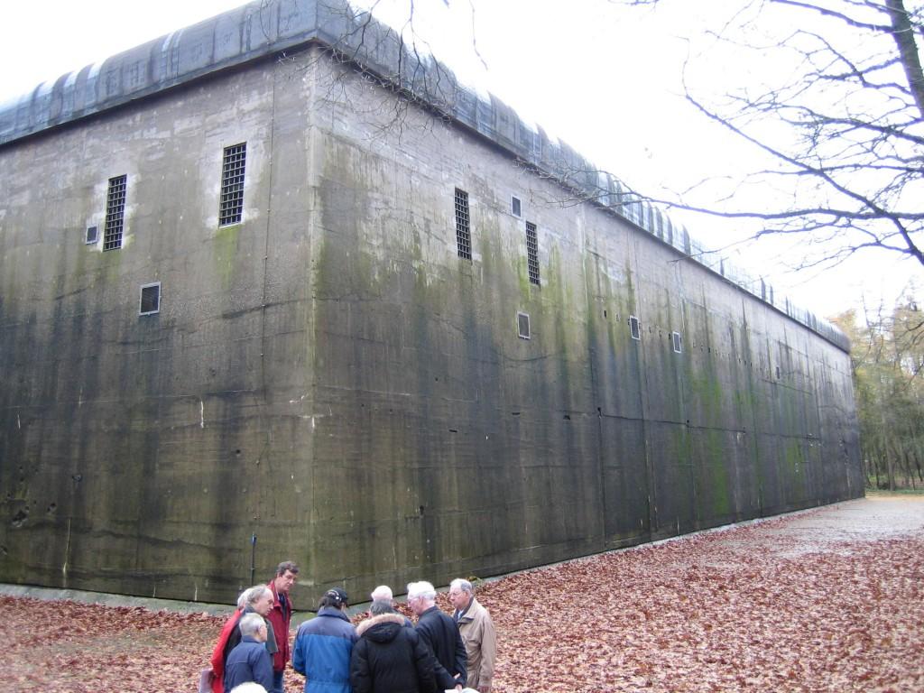 Bunker Diogenes hoofdkwartier 3e Jagddivision 1943-1944